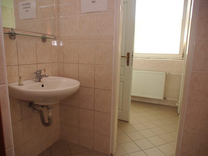 Sprchy Budova B